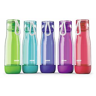 Zoku Everyday Sports Bottle - Leak proof - shock proof suspended glass core