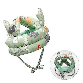 Baby Toddler Head Protection Cushion(Green)