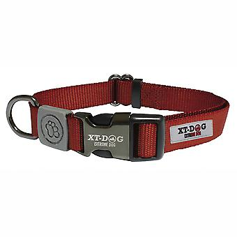 Xt-Dog Classic Red Nylon Collar (Dogs , Collars, Leads and Harnesses , Collars)