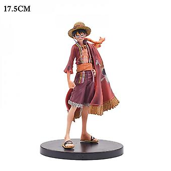 Koolyou One Piece Animation Cartoon Action Doll, Pvc, Model Doll, Children's Toys, Christmas Gifts-cloak Luffy -1
