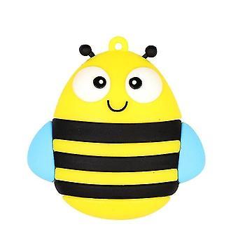 MicroDrive 4GB USB 2.0 דיסק U קריאייטיב חמוד Bee