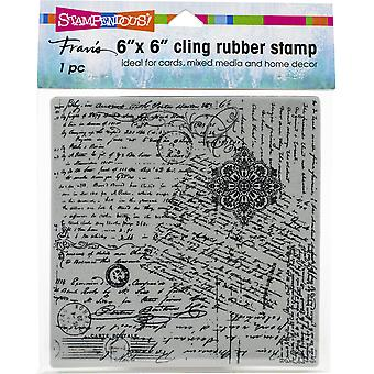 Stampendous Cling Stamps - Posted Script