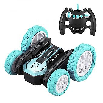 Stunt Toy Car 2.4ghz Remote Control Car Double Side Rotating Car Children's Toy