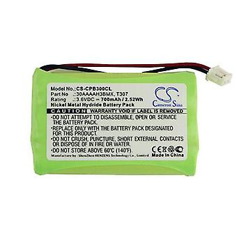 Cameron Sino Cpb300Cl Battery Replacement For Binatone Cordless Phone