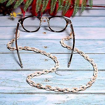 Eyewear straps chains leopard acrylic sunglasses chain anti slip eyewears holder cord's