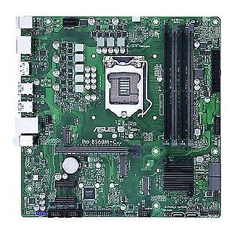 Motherboards pro b560m-c/csm  corporate stable model  intel b560  1200  micro atx  4 ddr4  hdmi  2 dp  2x m.2