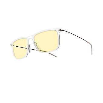 Anti blue light computer glasses, anti fatigue(Transparent)