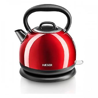 Water Kettle And Electric Teakettle Haeger Red Cherry 2200 W 1,7 L 38381 38381 38381