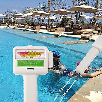 Nouveau testeur de niveau de chlore Ph &Cl2 Moniteur de qualité de l'eau spa piscine