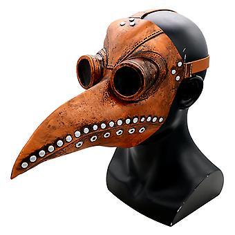 Halloween Prop Pest Doctor Bird Mask Lang næse Næb Cosplay