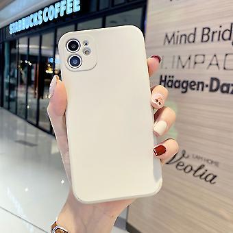 Iphone 11pro液体シリコーン電話ケースに適したベナリサ小穴キューブストレートエッジアップルフル保護ケース