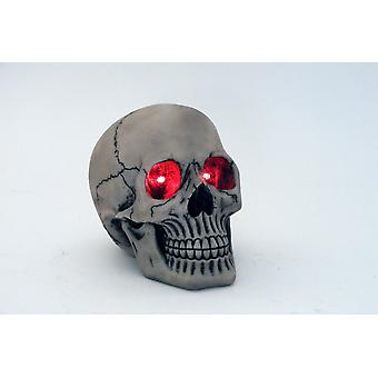 20cm LED światła czaszka Ornament ozdobny figurki pomysł na prezent