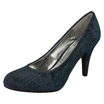 Ladies Anne Michelle Two Tone Heels