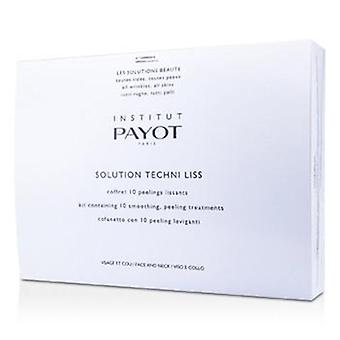 Payot Solution Techni Liss - Smoothing & Peeling Treatments For Face & Neck (salon Product) - 10treatments