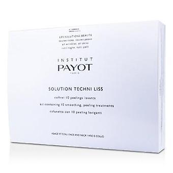 パヨットソリューションテクニリス - スムージング&顔と顔のためのピーリングトリートメントネック(サロン製品) - 10トリートメント