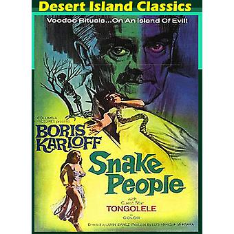 Snake personer [DVD] USA import