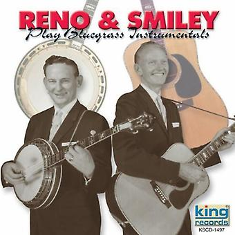 Reno & Smiley - Play Bluegrass instrumentale [CD] USA import
