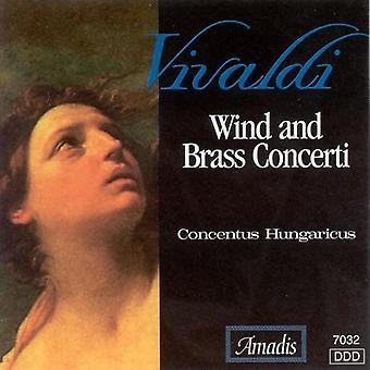 A. Vivaldi - Vivaldi: Wind and Brass Concerti [CD] USA import