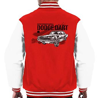 Haynes Owners Workshop Manual Dodge Dart Black Men's Varsity Jacket