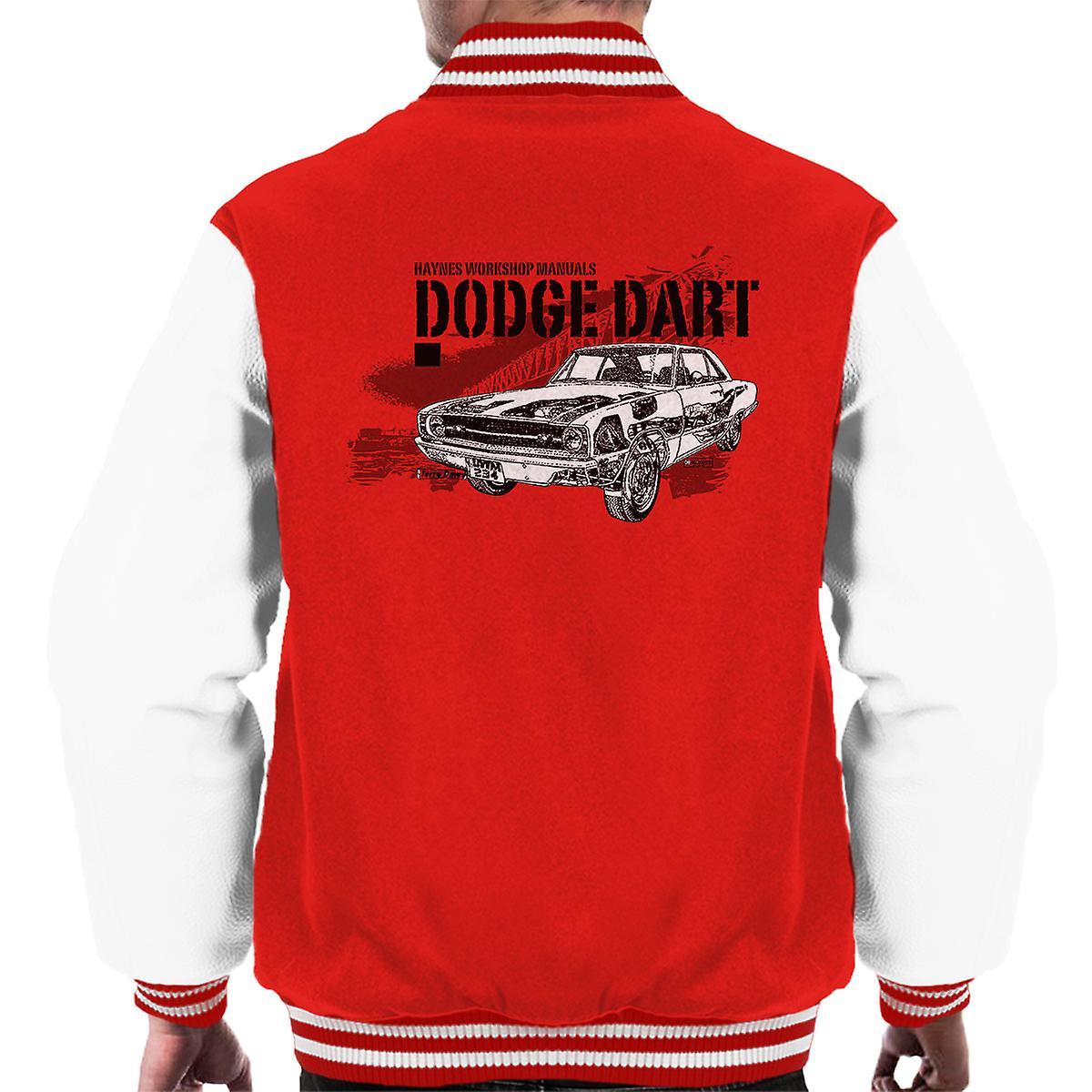 Haynes eiere Workshop manuell Dodge Dart svart menn Varsity jakke