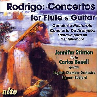 J. Rodrigo - Rodrigo: Concertos for Flute & Guitar [CD] USA import