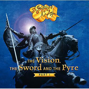 Eloy - The Vision the Sword & the Pyre (Part 1) [CD] USA import