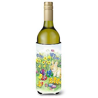 Pääsiäisen ja pupu viinipullo Beverge eriste Hugger