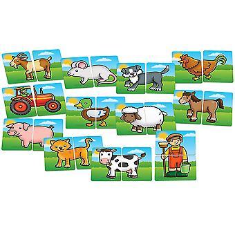 Orchard Toys Köpfe und Tails Bauernhof Spielzeug