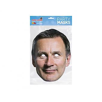 Jeremy Hunt British Politician 2D Card Party Fancy Dress Mask