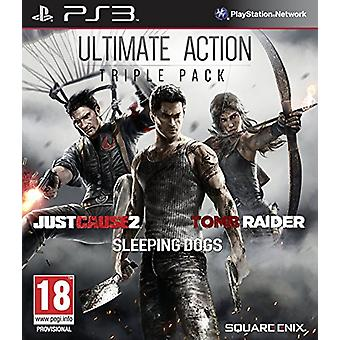 Ultimate Action Triple Pack (PS3) - Novo