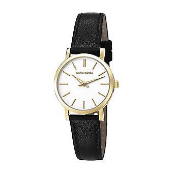 Pierre Cardin ladies watch wristwatch BONNE NOUVELLE leather PC106632F03