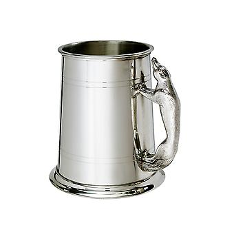 Fox behandelen 1 Pint tinnen Tankard