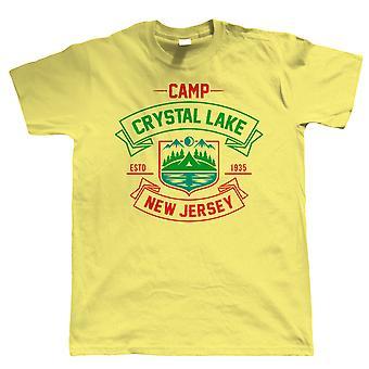 Camp Crystal Lake, Mens Funny T-Shirt