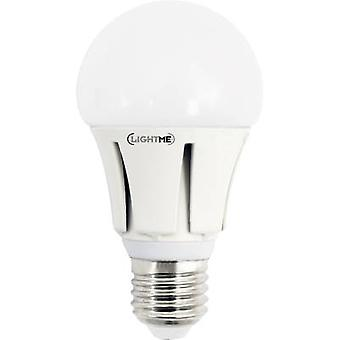 LightMe LM85109 LED (monochrome) EEC A+ (A++ - E) E27 Arbitrary 9.5 W = 60 W Cool white (Ø x L) 60 mm x 114 mm 1 pc(s)