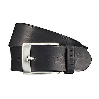 Jeans ceintures de hommes ceintures en cuir TOM TAILOR ceinture ceinture noire 4349