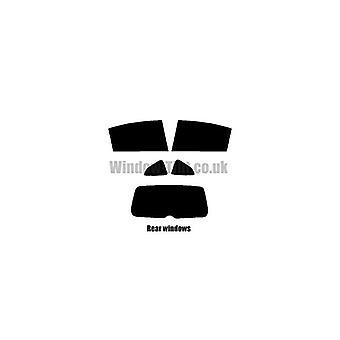 Pre taglio tinta finestra - Citroen C4 5 porte Hatchback - 2004-2008 - finestrini posteriori