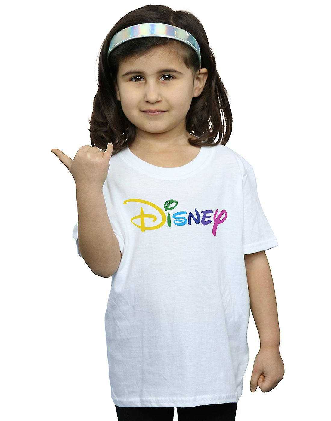 Disney Girls Colour Logo T-Shirt