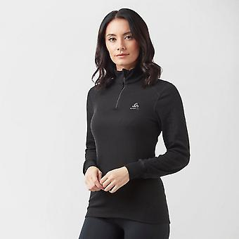 New Odlo Women's Active Original Warm Half-Zip Black