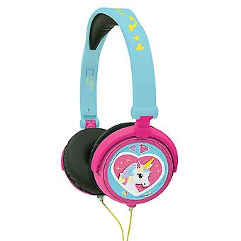 LEXIBOOK Unicorn Stereo Headphones (Model No. HP017UNI)