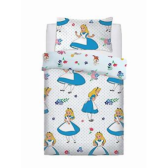 Disney Alice In Wonderland Single Duvet Cover Set