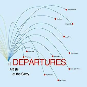 Avgångar - 11 konstnärer vid Getty av Lisa Lyon - 9780892365821 bok