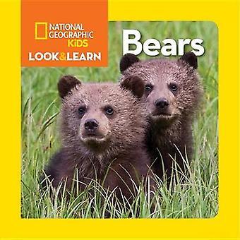 Nationale geografische kleine kinderen kijken en leren - beren door nationale Geo