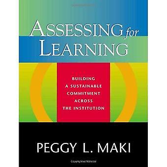 Évaluation de l'apprentissage: construction d'un engagement durable dans l'ensemble de l'Institution