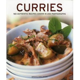 Curryrätter: 160 autentiska recept visas i 240 fotografier