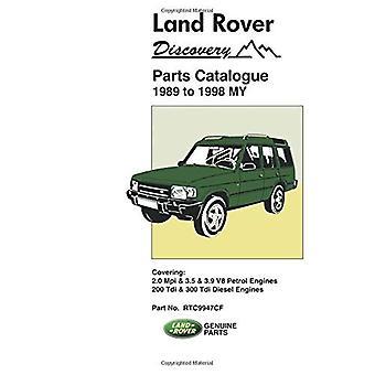 Land Rover Discovery onderdelencatalogus 1989-1998 mijn (onderdelen catalogi)