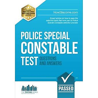 Police Special Constable Test Questions and Answers