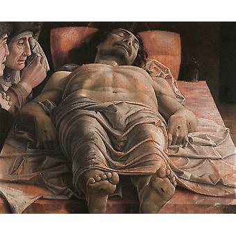 المسيح الميت,أندريا Mantegna, 50x40cm