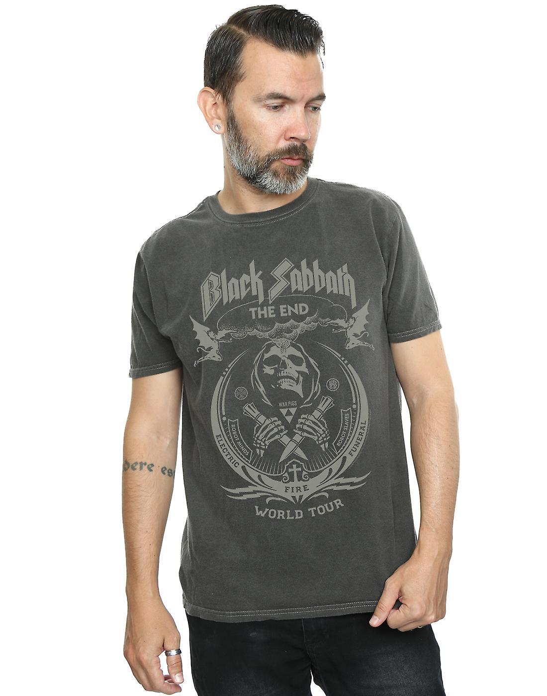 Black Sabbath Men's The End World Tour Washed T-Shirt