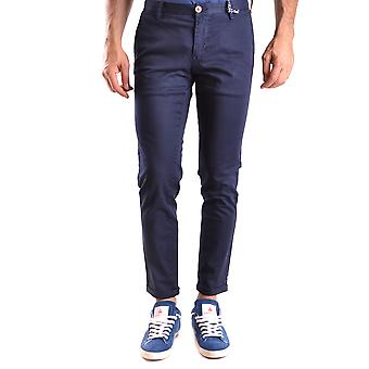 At.p.co Ezbc043012 Men's Blue Cotton Pants
