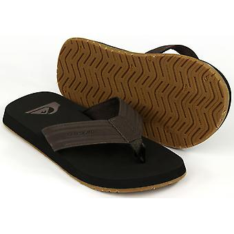 Quiksilver Mens Monkey Wrench sandalen - zwart/bruin